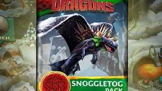 getlinkyoutube.com-Dragons: Rise of Berk - SNOGGLETOG Pack