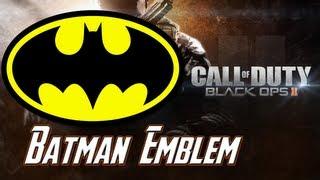Black Ops 2: Batman Emblem Tutorial