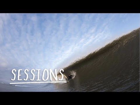 Scoring Perfect East Coast Barrels from Winter Storm Stella | Sessions