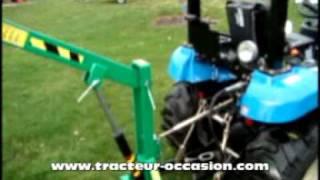 getlinkyoutube.com-grue_levage_hydraulique_Micro_Tracteur_Geo.mpg
