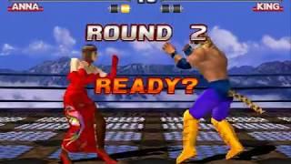 Tekken 3 Anna Williams arcade mode. My gameplay
