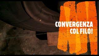 getlinkyoutube.com-Convergenza anteriore fai da te con filo (Alfa Romeo 147/156/GT)