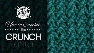 getlinkyoutube.com-How to Crochet the Crunch Stitch