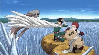 getlinkyoutube.com-Gaara Vs Kimimaro - Blue Stahli Scrape  - | Full Fight HD *2 part*