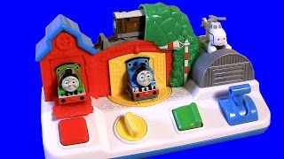 getlinkyoutube.com-Thomas & Friends Pop-up Surprise Pals VS. Sesame Street vs. Disney Baby Minnie Mouse pop-up