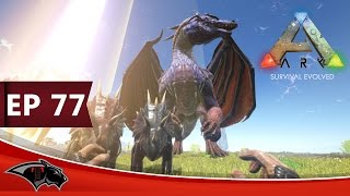 getlinkyoutube.com-ARK Survival Evolved  -FITTEST Solo - The Dragon -| Ep 77