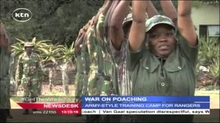 getlinkyoutube.com-Park rangers given specialized training to tackle armed poachers