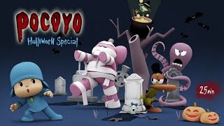 getlinkyoutube.com-Pocoyo Halloween: Spooky Movies for Kids - 25 minutes of fun!