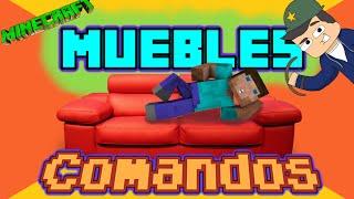 getlinkyoutube.com-Muebles con Comandos para Minecraft   Tutorial Comandos Versión 1.8