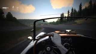 getlinkyoutube.com-Assetto Corsa -  Spa-Francorchamps - Shelby Cobra 427/SC - Sunset - Post Processing Filter (Vintage)