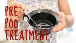 getlinkyoutube.com-Pre Poo Hair Treatment┃Tutorial