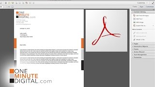 Make an Editable PDF Letterhead and Lock it - from Illustrator to Acrobat Pro