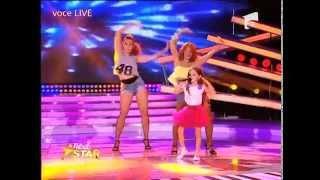 getlinkyoutube.com-Corina - Autobronzant. Vezi aici cum cântă Nina Manolache la Next Star!