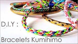 getlinkyoutube.com-DIY : comment faire des bracelets avec la technique de kumihimo / kumihimo patterns
