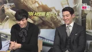 getlinkyoutube.com-[ENG SUB] 161119 Kim Woo Bin, Kang Dong Won, Lee Byung Hun  'MASTER' interview on SBS MovieWorld