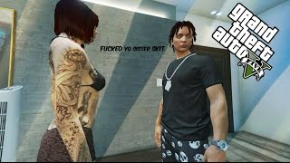 "getlinkyoutube.com-GTA 5 "" I F#CKED YO SISTER "" SKIT {PS4}"