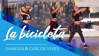 getlinkyoutube.com-La Bicicleta - Shakira & Carlos Vives - Easy Fitness Dance Choreography