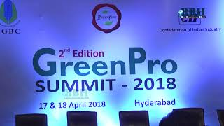 CII 2nd Edition Green Pro Summit 2018 Hyderabad