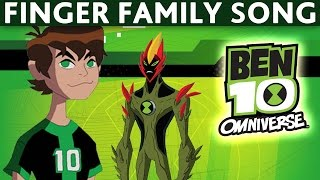 getlinkyoutube.com-Finger Family BEN 10 TEN - Daddy Finger Song BEN 10 TEN - Nursery Rhymes for Children