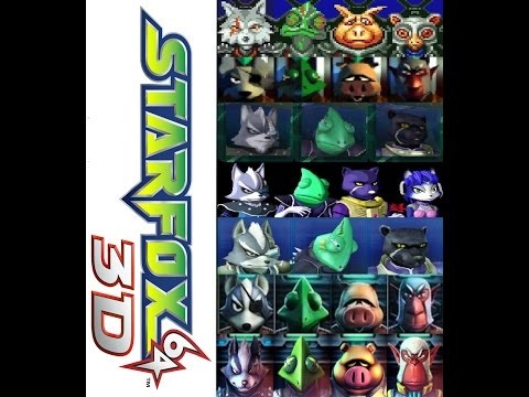 Star Fox 64 3D OST - Star Wolf's Theme (Extended)