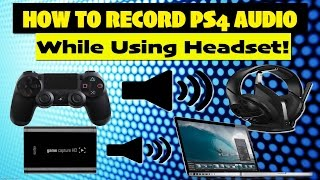 getlinkyoutube.com-Mewee's Elgato Tutorial! How To Record PS4 Audio While Using a Headset! Multiple Audio Outputs FIX!