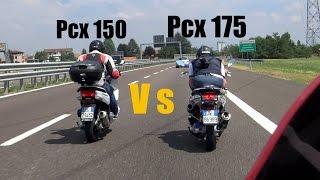 getlinkyoutube.com-Pcx 175 Vs 150 40-120 km/h Video (BEST 4K)