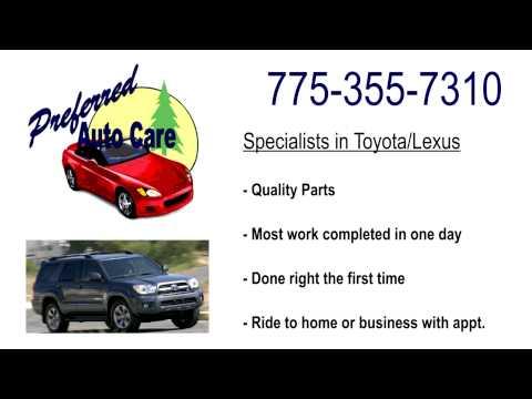 Reno Toyota Lexus Repair Service Mechanic Timing Belt Brakes