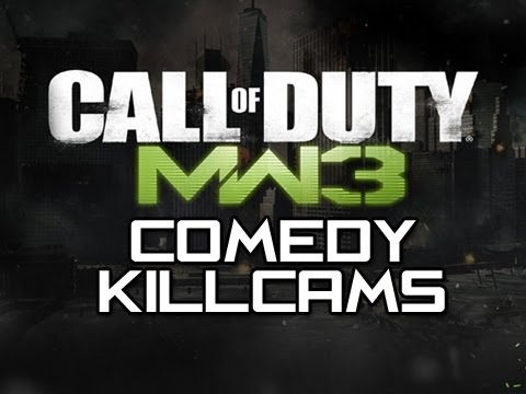MW3 Comedy Killcams - Episode 1 (Funny MW3 Killcams with Reactions)
