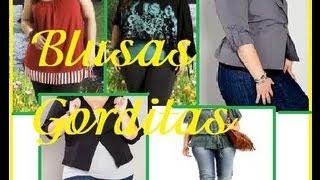 getlinkyoutube.com-Ideas Blusas para Gorditas