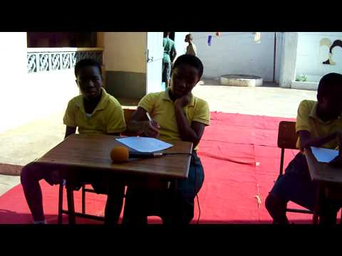 School Activities at Emmanuel School, Accra, Ghana - Quiz Show (Part 3)