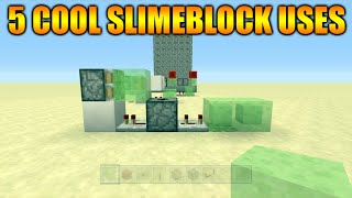 getlinkyoutube.com-★Minecraft Xbox 360 + PS3 Title Update 31 - 5 Cool Things To Do With Slimeblocks Redstone Creations★