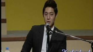 getlinkyoutube.com-Kim Hyun Joong Talks About Jung So Min Being a TRIPLE S....
