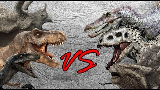getlinkyoutube.com-Dinosaur Battle Royale