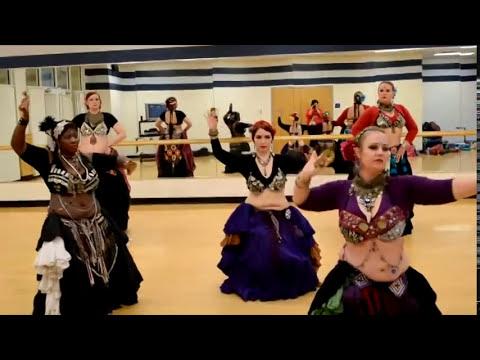 Serenity Tribal ATS Belly Dance Improv