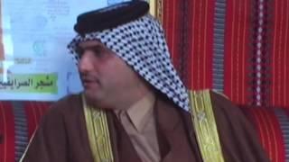 لقاء خاص مع الشيخ كاظم مجيد فالح شيخ عشيرة البوكرصه الصرايفين