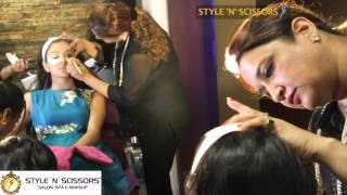 Mahima Makhwana a television actress makeover at STYLE N SCISSORS, Jaipur