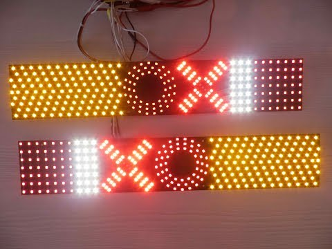 LED платы для тюнинга задних фар Derways Cowboy (Газель)