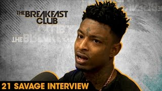 21 Savage Interview With The Breakfast Club (8-4-16) width=