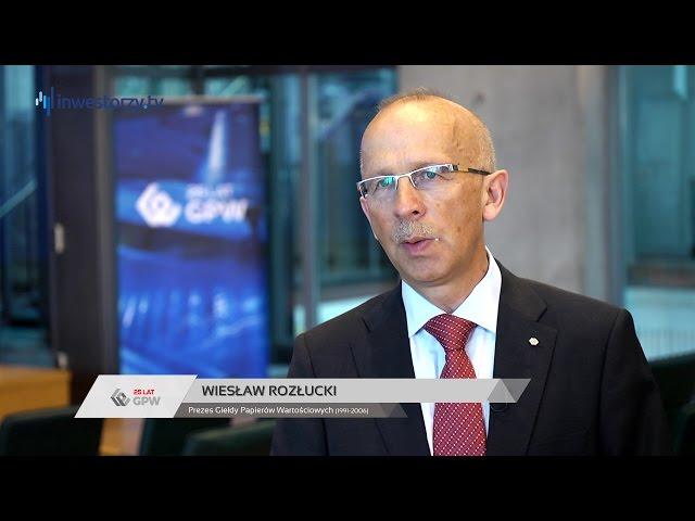 25 lat GPW: Wiesław Rozłucki, Giełda Papierów Wartościowych w Warszawie SA