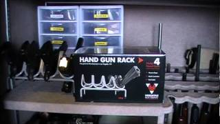 getlinkyoutube.com-Pistol Rack for the Safe..Make some room
