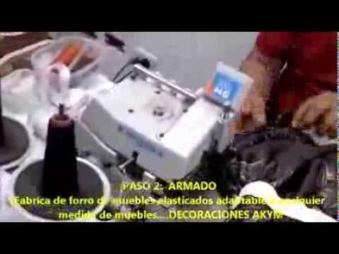 FORRO DE MUEBLES ELASTICADOS ADAPTABLES A CUALQUIER MEDIDA DECORACIONES AKYM