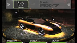 HOW TO MAKE Han's RX-7 [Vinyl] | Tokyo Drift | Need for Speed: Underground 2