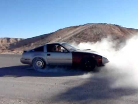 BPUZ31 300ZX turbo smoking tires