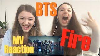 "getlinkyoutube.com-BTS (방탄소년단) ""FIRE (불타오르네)"" MV Reaction ☆Leiona☆"