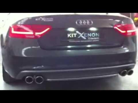 Audi A5 Facelift DAYLINE задние фары и дизайн by KITT