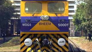 getlinkyoutube.com-5500 HP WDG5 Locomotive BHEEM