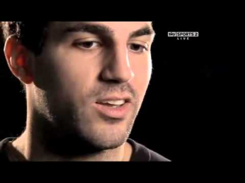 YouTube - Cesc Fabregas interview pre-Arsenal-Manchester City match.flv