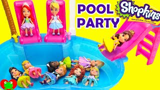 getlinkyoutube.com-Disney Princess Magical Pool Party with Orbeez and Surprises
