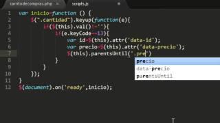 getlinkyoutube.com-Crear Carrito de Compras  Parte 4 con PHP, MySQL, HTML5, JQuery.