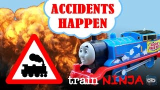 getlinkyoutube.com-Accidents Happen | Thomas and Friends Trackmaster | Japanese Song